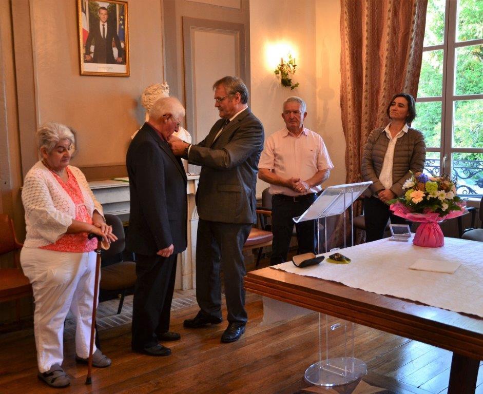 Michel Faure médaille du mérite agricole